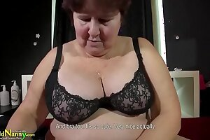 OldNannY Busty BBW Old Of age Granny Compilation