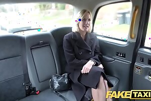 Fake Taxi Grown-up Milf gets her big pussy bazoo stretched open