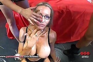 Well-endowed Grown up Emma Starr Cum Hungry in Germany - German Goo Girls