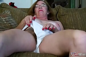 USAwives Hairy Granny Pusssy Fucked More Sex Toy