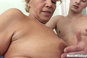 Young Souled Granny Sucking Plus Screwing Hard Cock