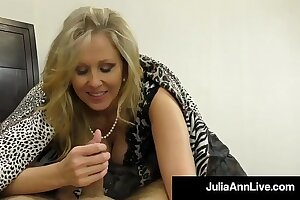 Hot Classy Milf Julia Ann Takes A Blarney Respecting Say no to Mouth & Hands!
