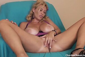 Fat Boob Tampa MILF Charlee Chase Dildo Play