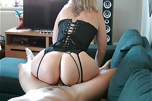 Best lingerie video  with milf Nini Divine perfect fabrication with an increment of big ass!