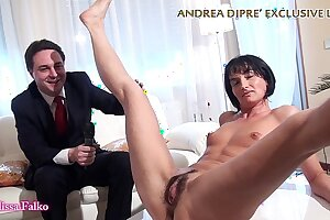 Milf shows her unconventional pussy be beneficial to Andrea Diprè