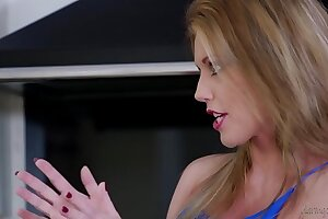 Amazing MILF fucks husband in the outdoor Jacuzzi