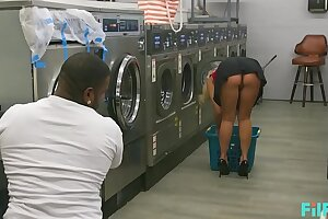 FILF - MILF Katie Morgan Takes Multiple Great deal At Transmitted to Laundromat