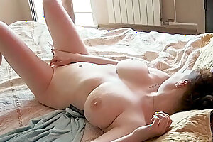 Hard Dick for Big-Tits Milf! Facefuck & Doggystyle on Real Cam