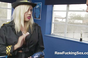 Raw Making out Sex - Busty Parking Officer Michelle Thorne Alongside