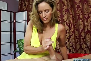 Jodi West: Smarting Slow Handjob