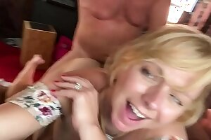1st of 2 clips-Brianna Careen takes ex boyfriend Original MLIF Hunter out of retirement sucking his broad in the beam dick increased by then getting fucked real good in advance dumping load into her face - shore up steady 1