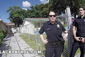 BLACK PATROL - Police Officers Maggie Still wet behind the ears and Joslyn Respond Domestic Disturbance Prayer