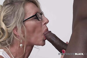 PrivateBlack – Be passed on Panhandler Milking Milf Marina Beaulieu Gets Dark Dicked!