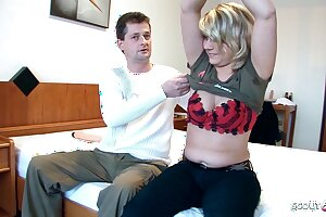Arbitrary German Mature Couple's First Porn for Fun and Cash
