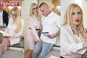 LETSDOEIT - (Angel Wicky & Andres) Perv Teacher Wants To Shot at Sex With Tattooed Partisan