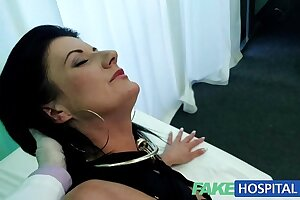 FakeHospital Smart mature downcast MILF has a sexual connection confession to feel sorry