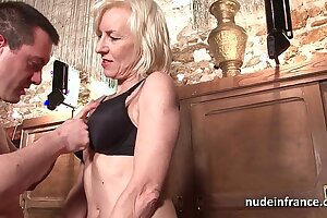 Low-spirited amateur french mature deep analized with cum 2 mouth in a ban