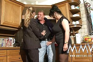 MMV Films Two adult wifes sharing a cock